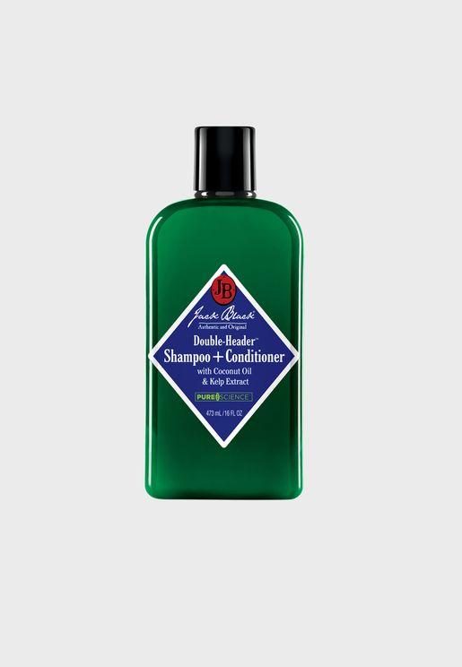 Double-Header Shampoo & Conditioner 473ml