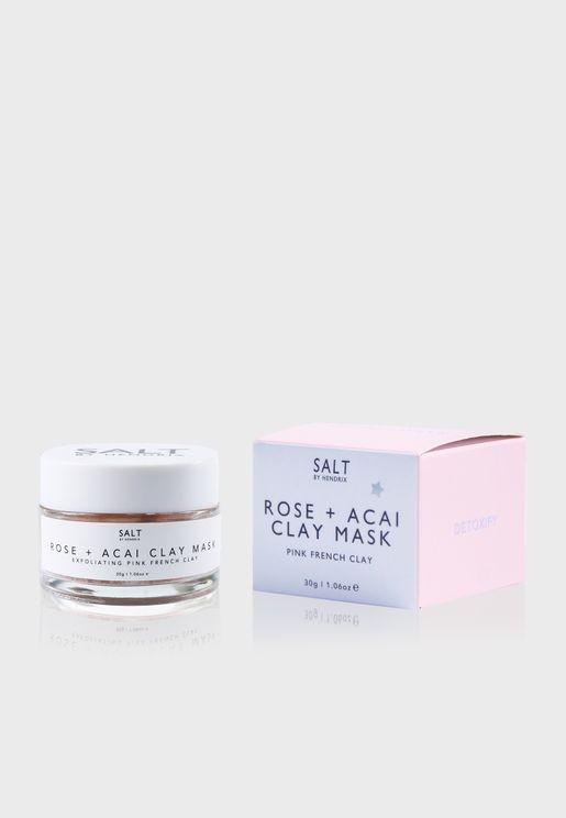 Rose + Acai Face Mask