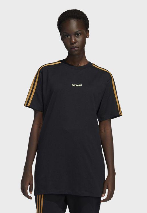 Ivy Park 3 Stripe T-Shirt