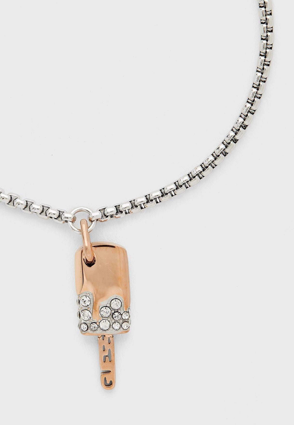 Pave Ice Pop Charm Bracelet
