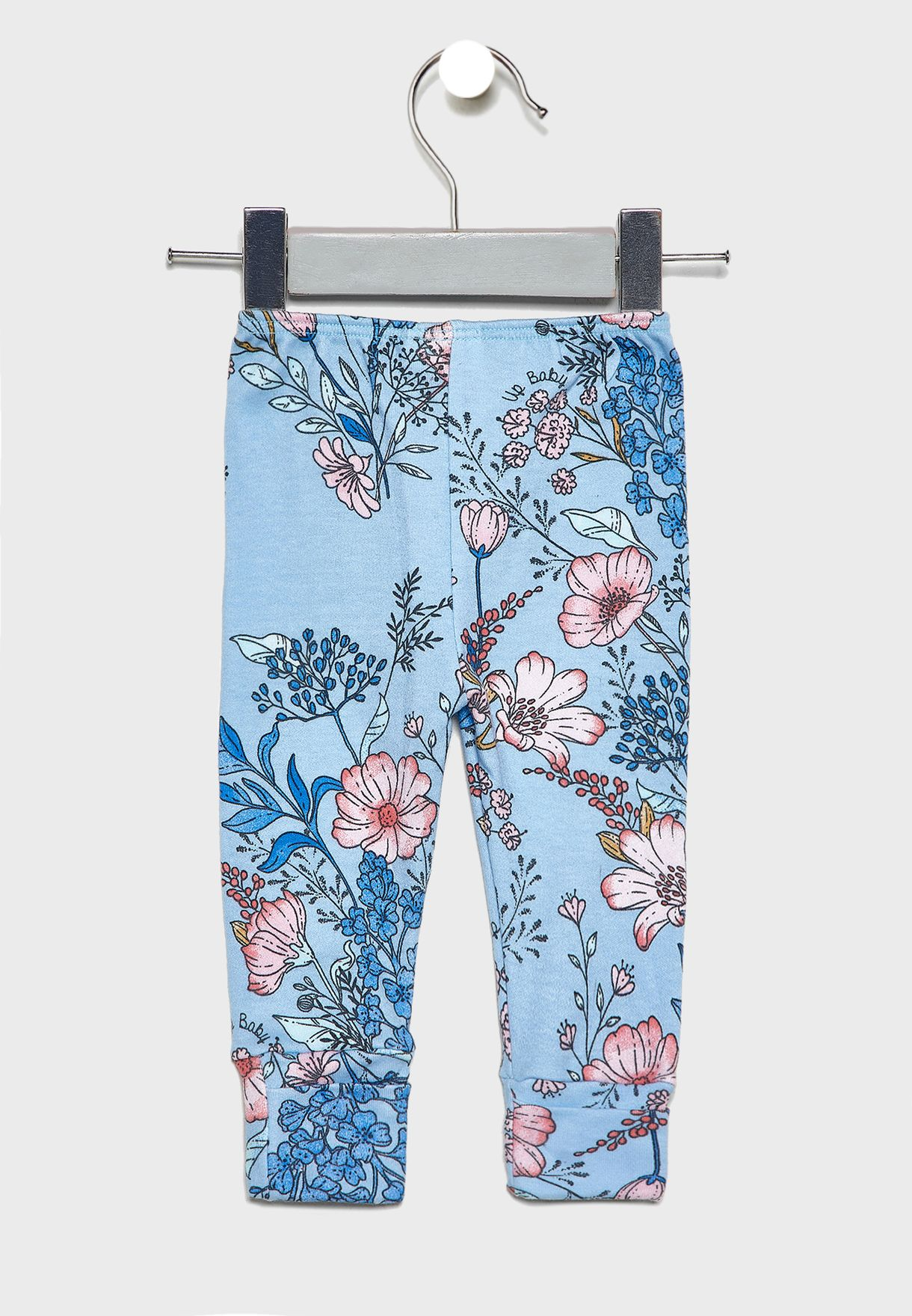 Kids Floral Sweatpants