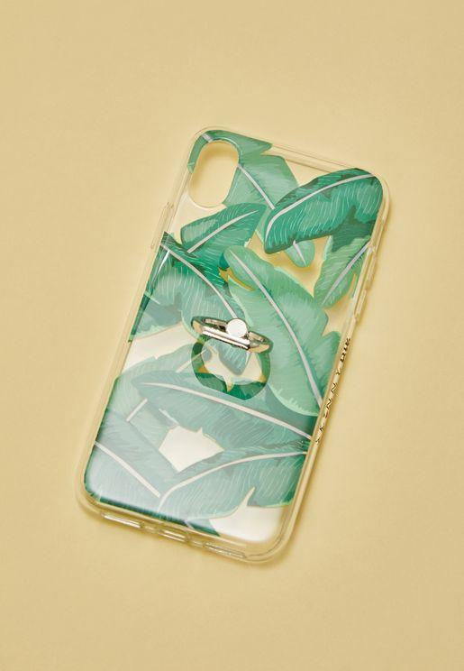 Palm Leaf  iPhone X Case