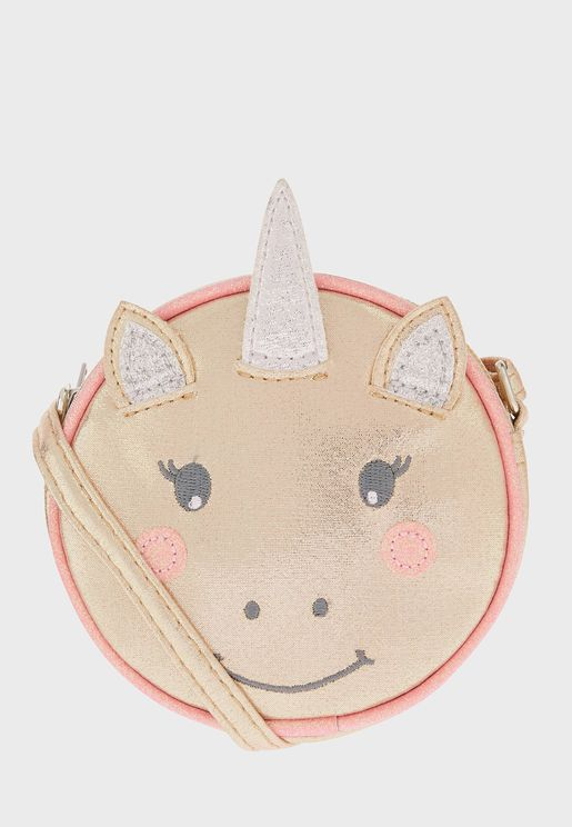Kids Unicorn Cross Body Bag