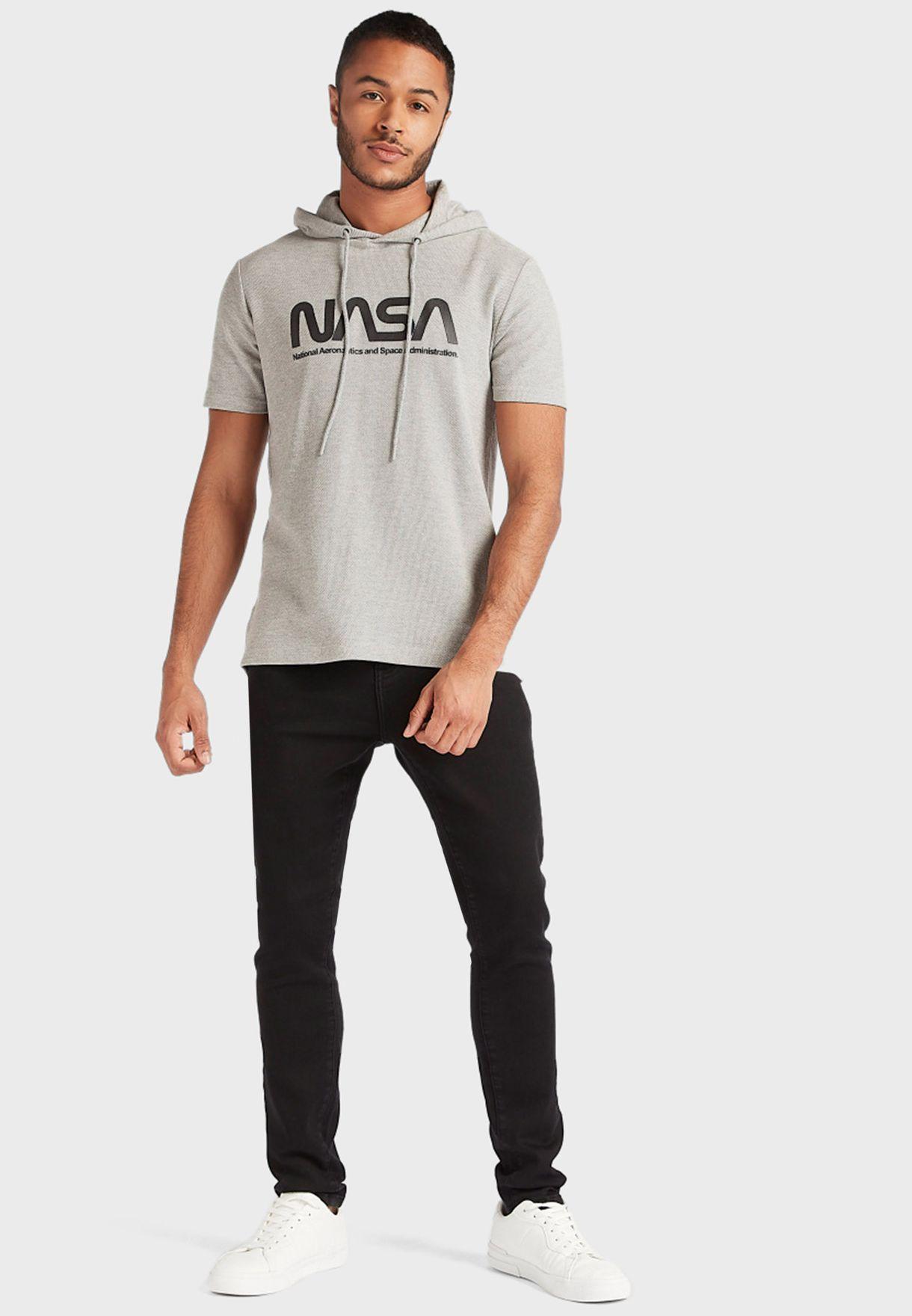 Nasa Hooded T-Shirt