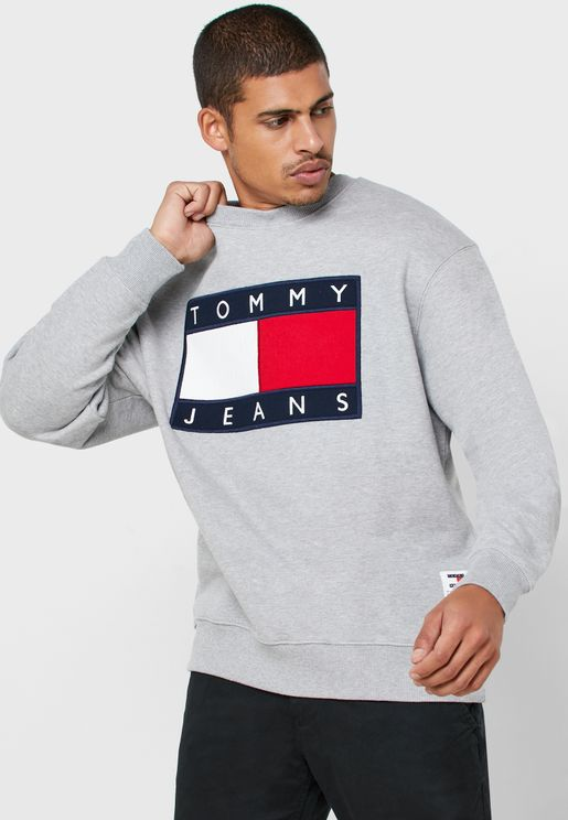 Logo Flag Sweatshirt
