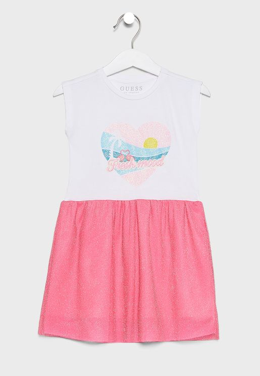 Kids Graphic Dress