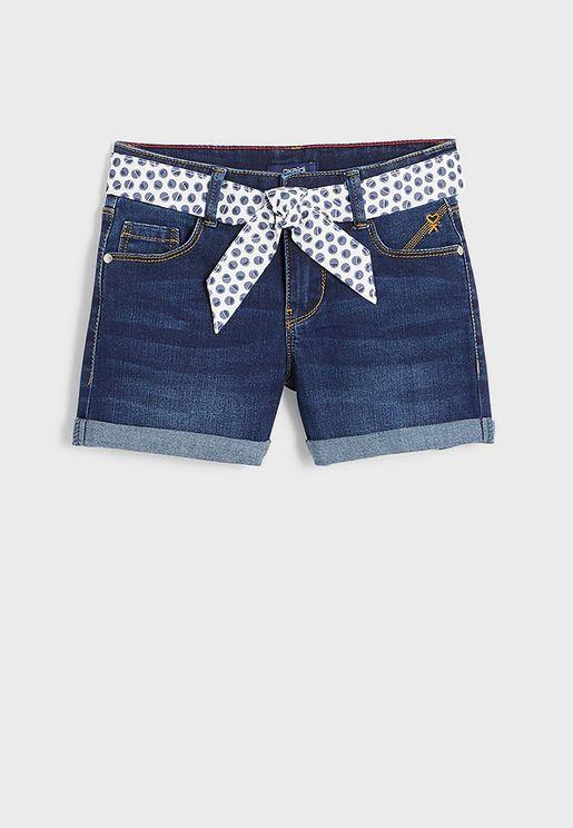 Youth Denim Shorts