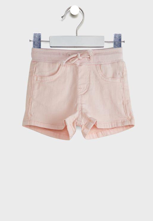 Infant Folded Hem Shorts