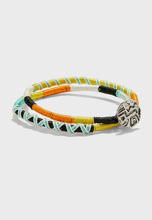 Multilayered Bracelet