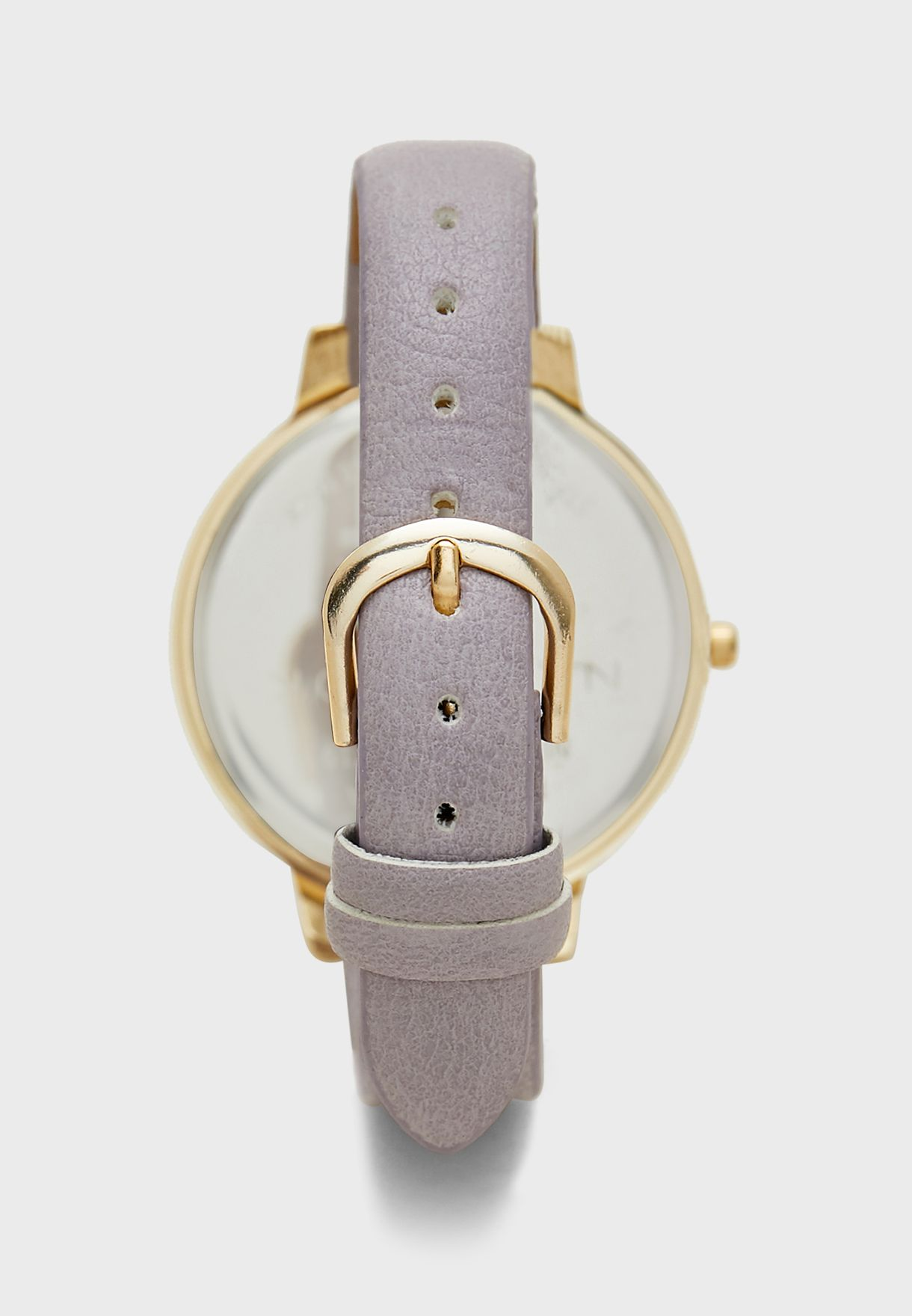 Geo Floral Dial Watch
