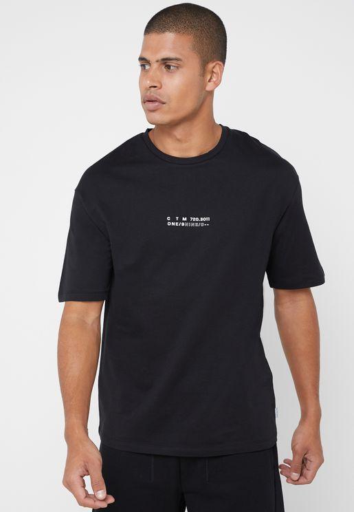 Blur Crew Neck T-Shirt