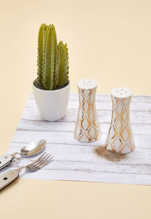 Gold Salt & Pepper Set