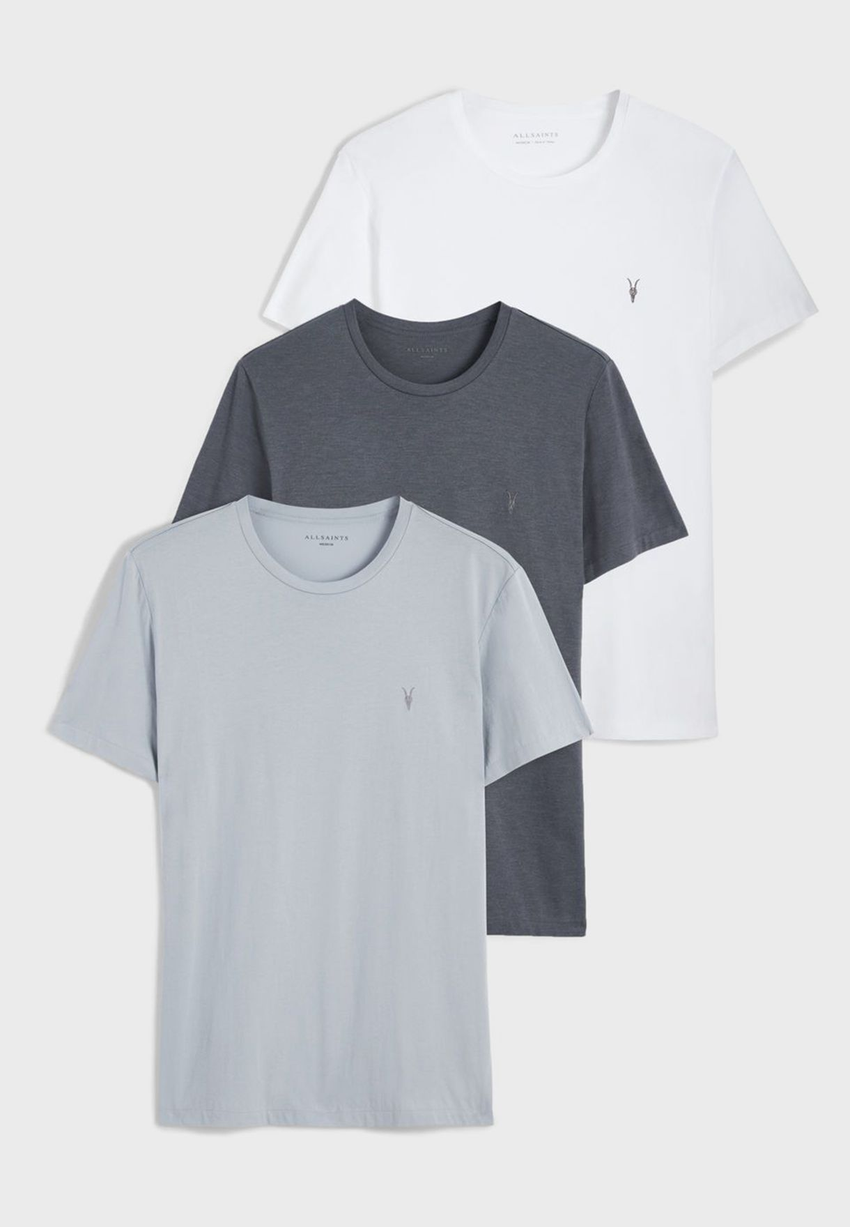 3 Pack Tonic Crew Neck T-Shirt