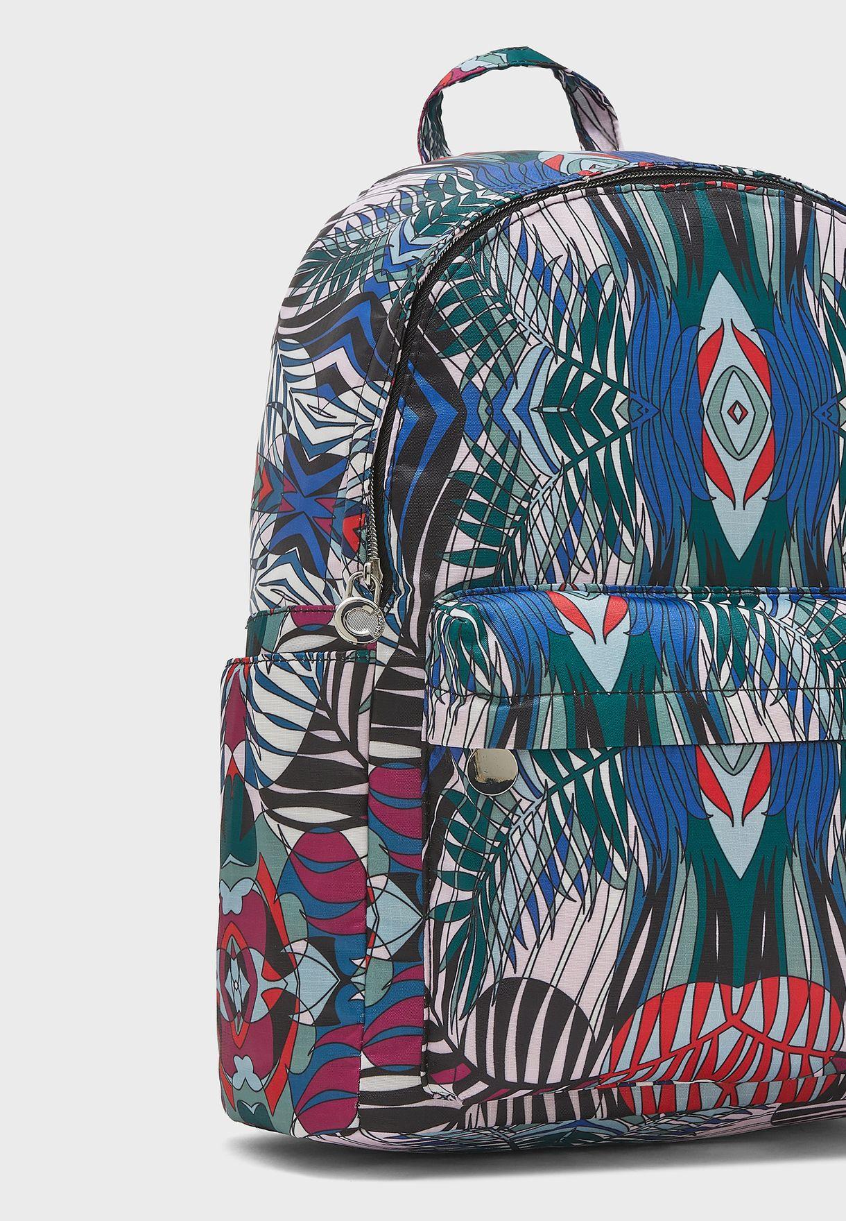 Front Zip Pocket Backpack