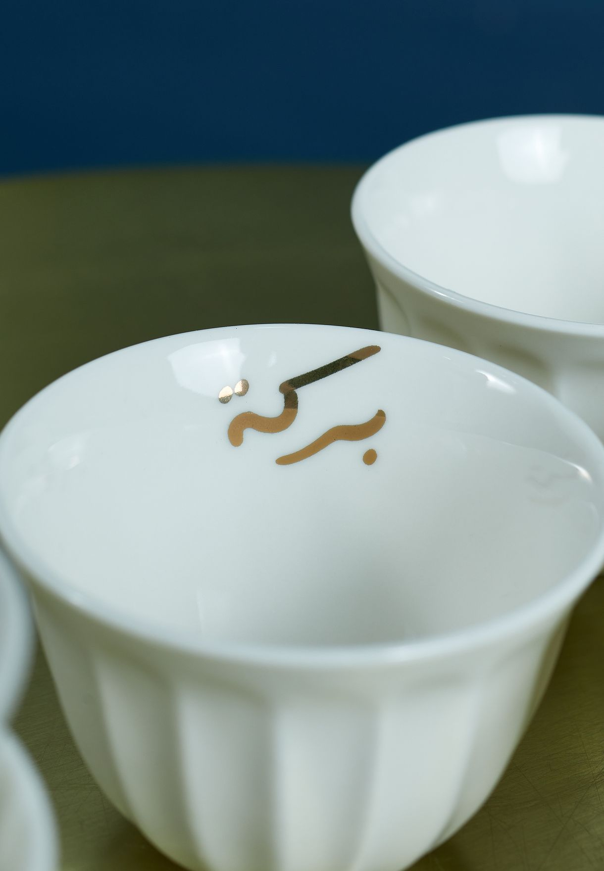 Set of 6 Chaffe Blessing Cup