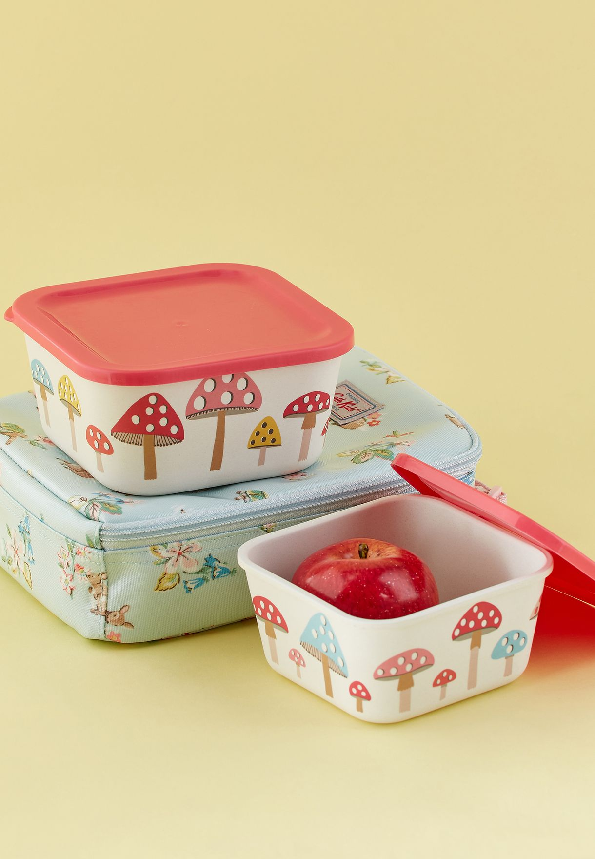 2 Pack Bamboo Lunch Box