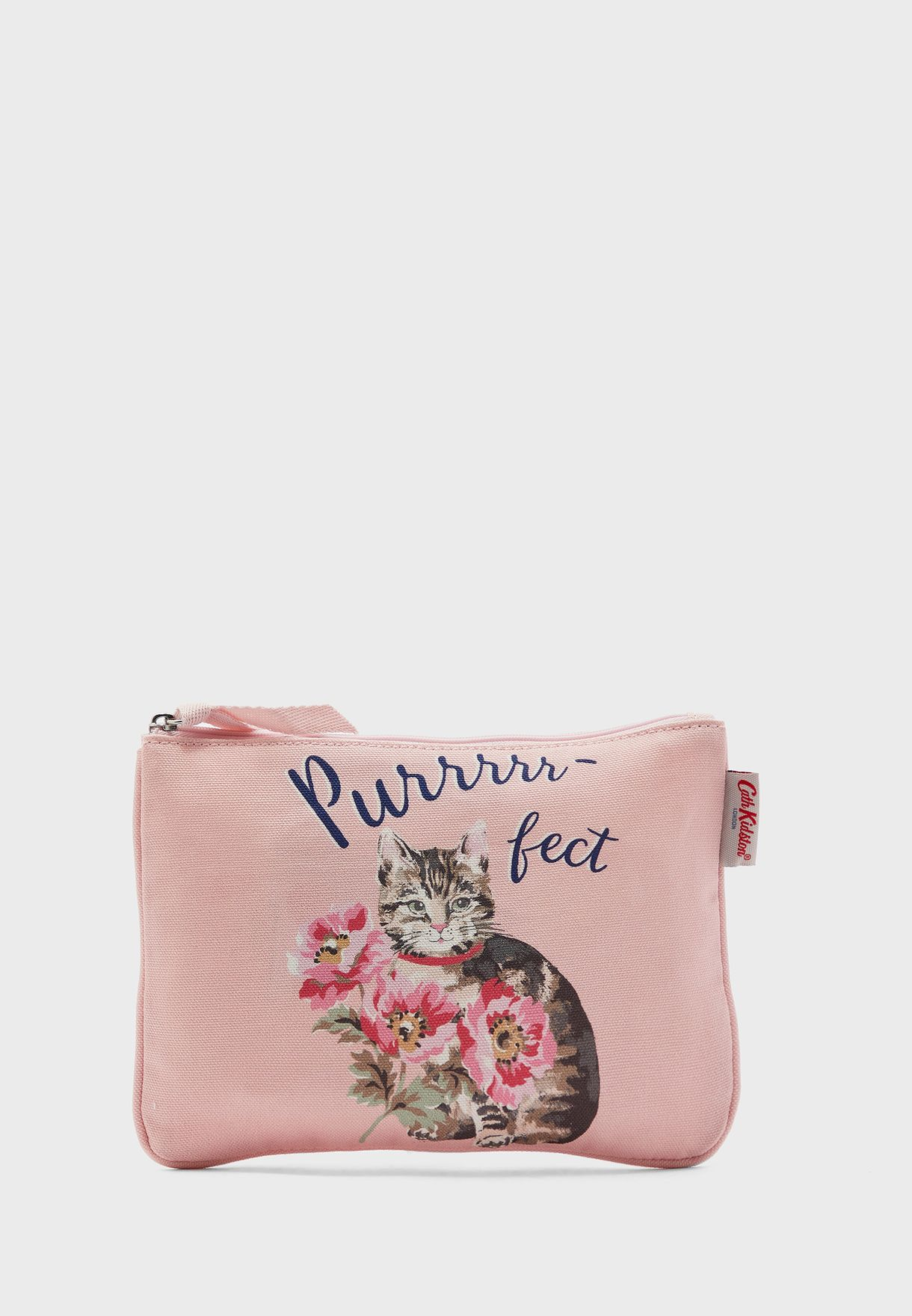 Cat Printed Purse