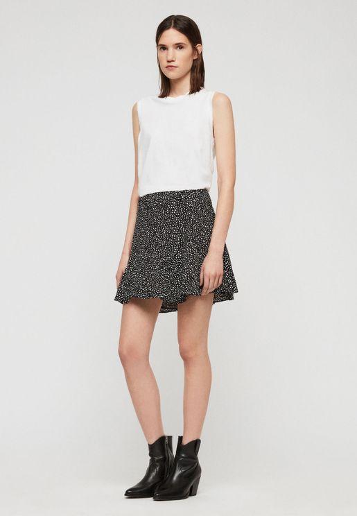 Frida Printed Mini Skirt