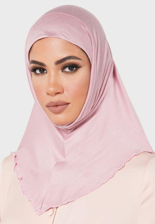 Plain Jersey Hijab Headscarf