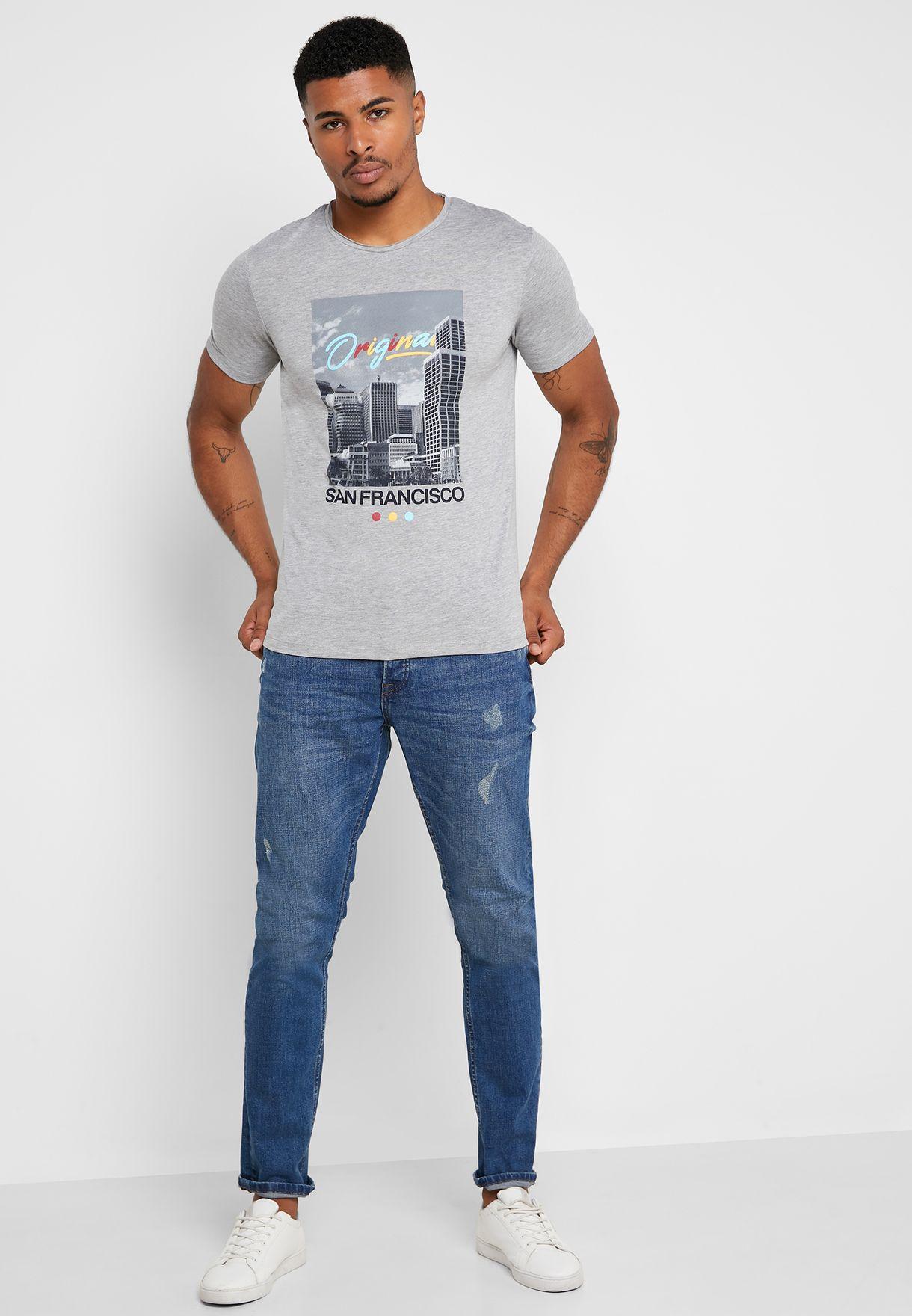 Endless Slim Fit T- Shirt