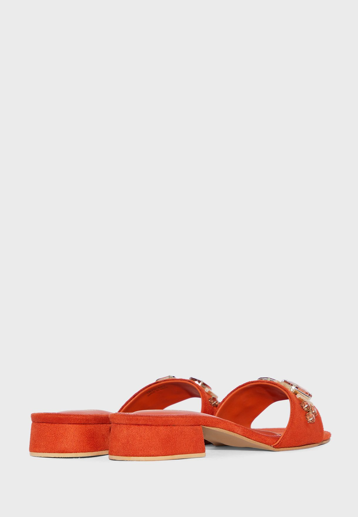 Buy Austin Reed Orange Single Strap Mid Heel Sandal For Women In Mena Worldwide Aullhs14dff