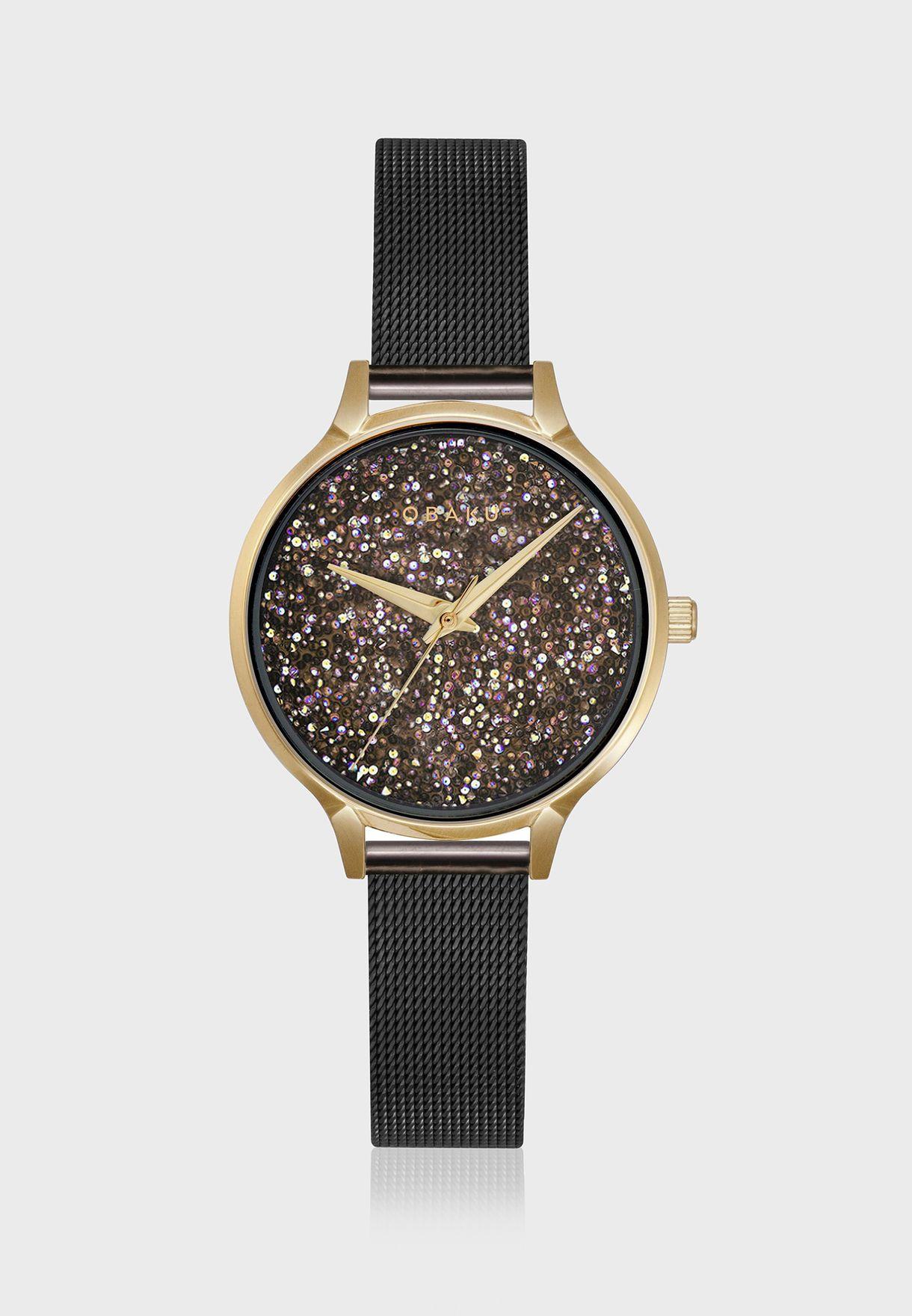 Stjerner - Medallion Analog Watch