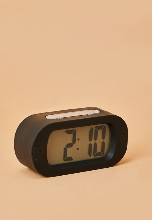 Gummy Rubberized Alarm Clock