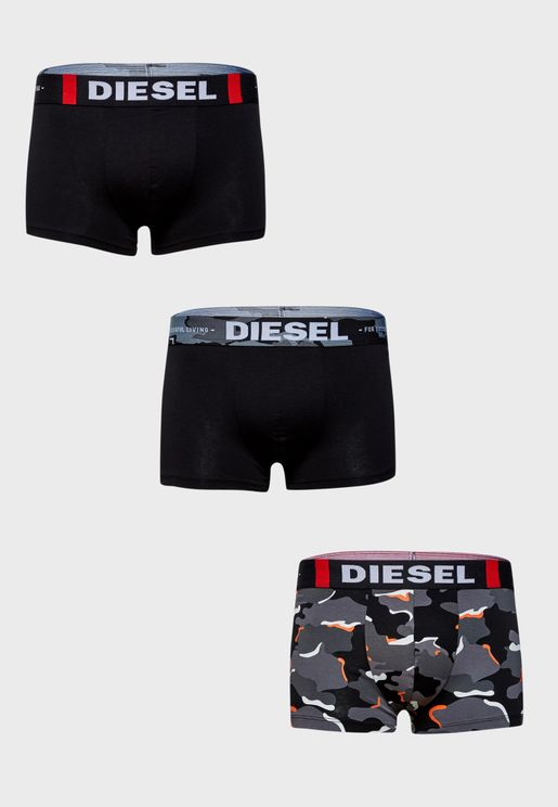 Damien 3 Pack Assorted Boxers