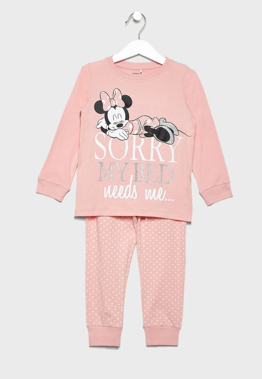 Kids Minnie T-Shirt + Leggings Set