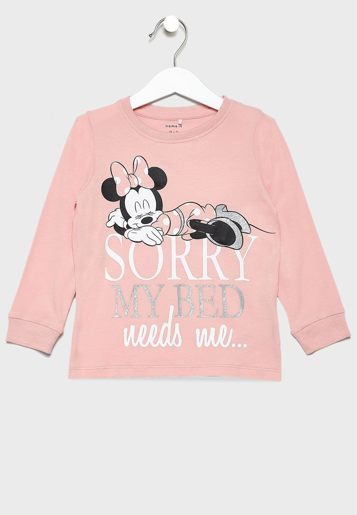 Kids Minnie T-Shirt + Leggings Set