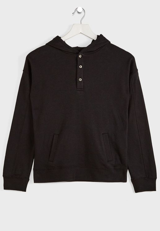 Youth Henley Hoodie