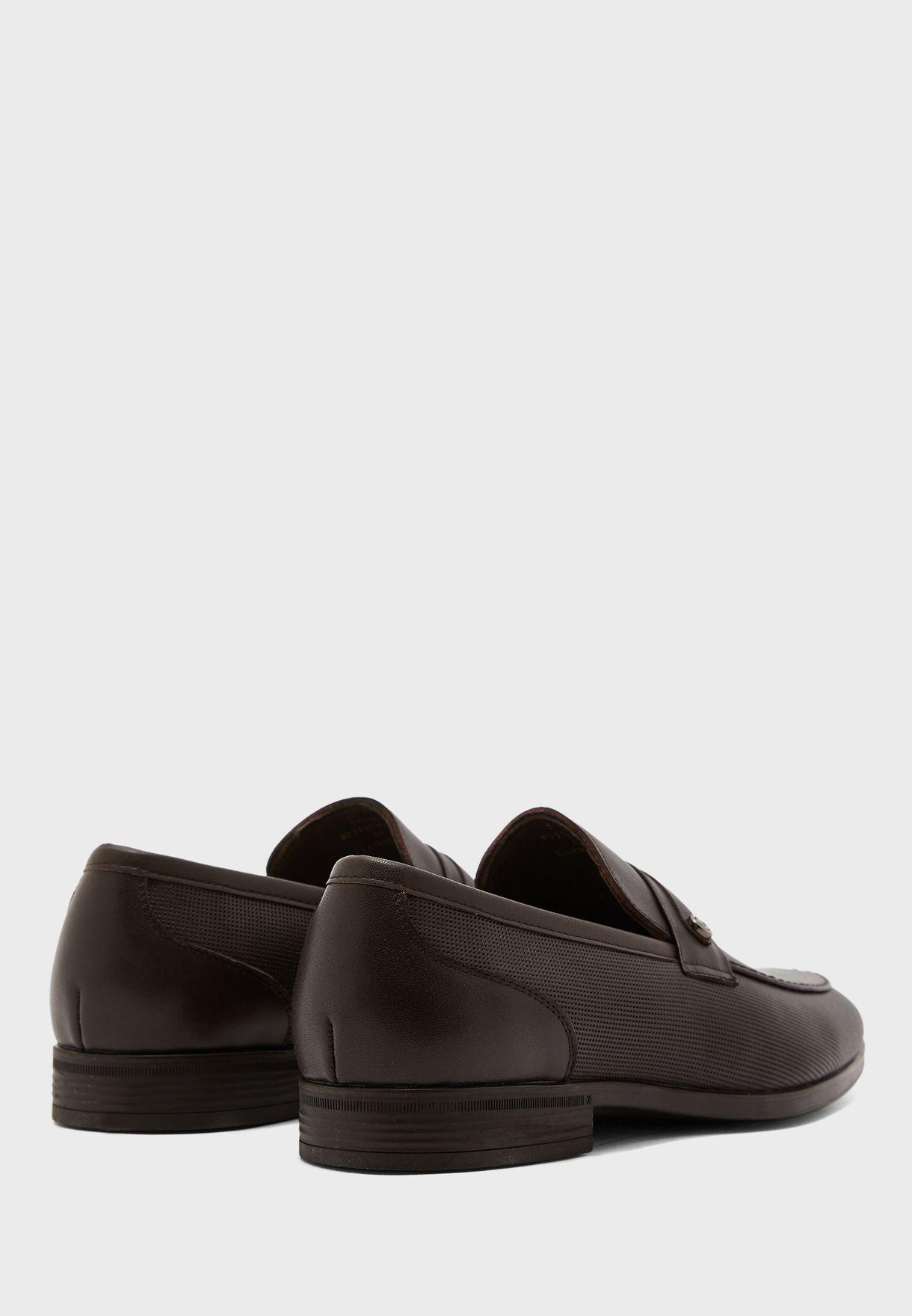 حذاء لوفرز جلد اصلي