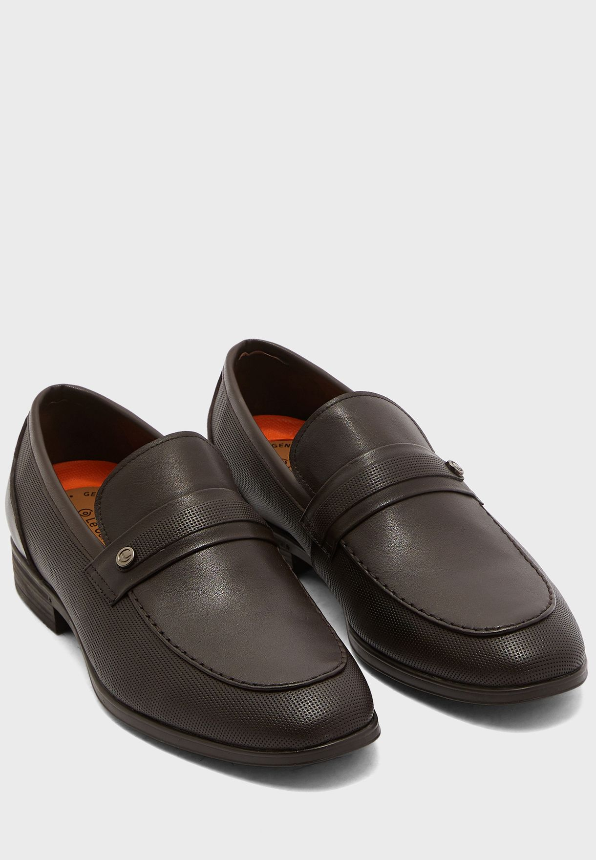 Single Monk Strap Loafers