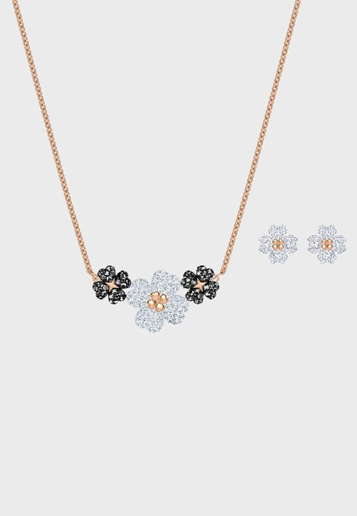 Latisha Necklace+Earrings Set