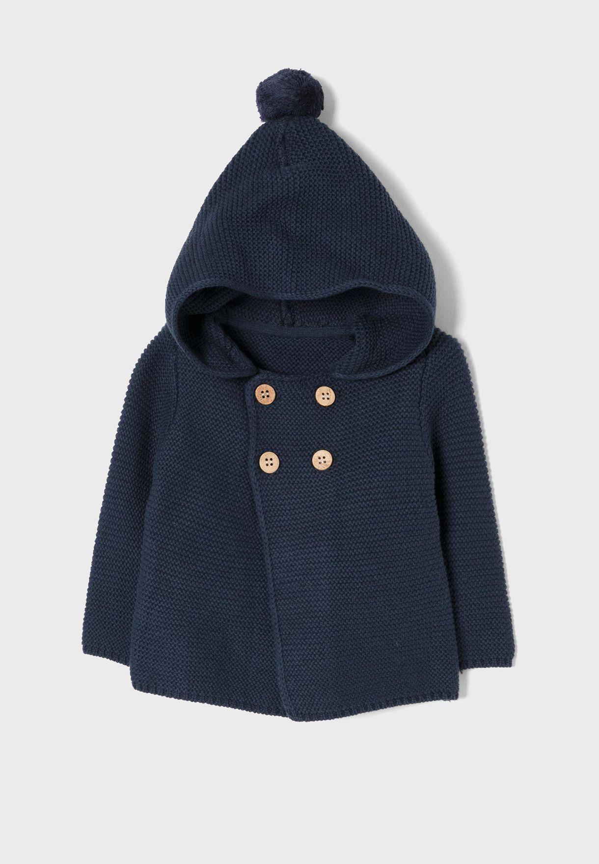 Infant Hooded Cardigan