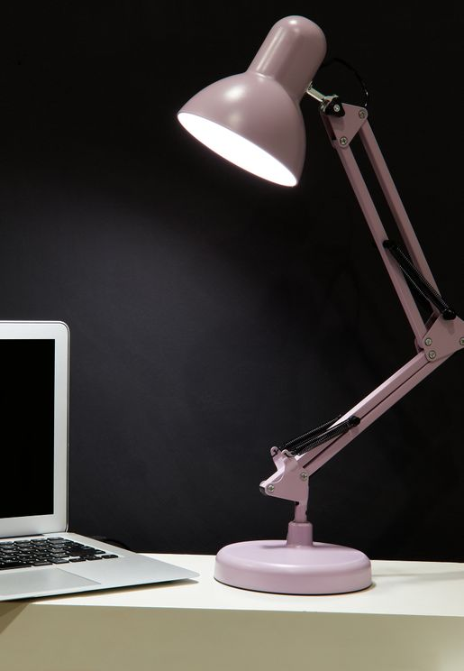 Lilac USB Desk Lamp