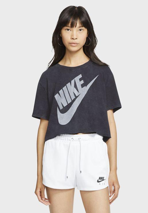 NSW Futura Cropped T-Shirt
