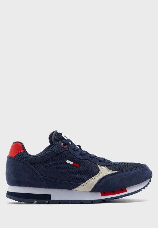 Retro Runner Mix Sneaker