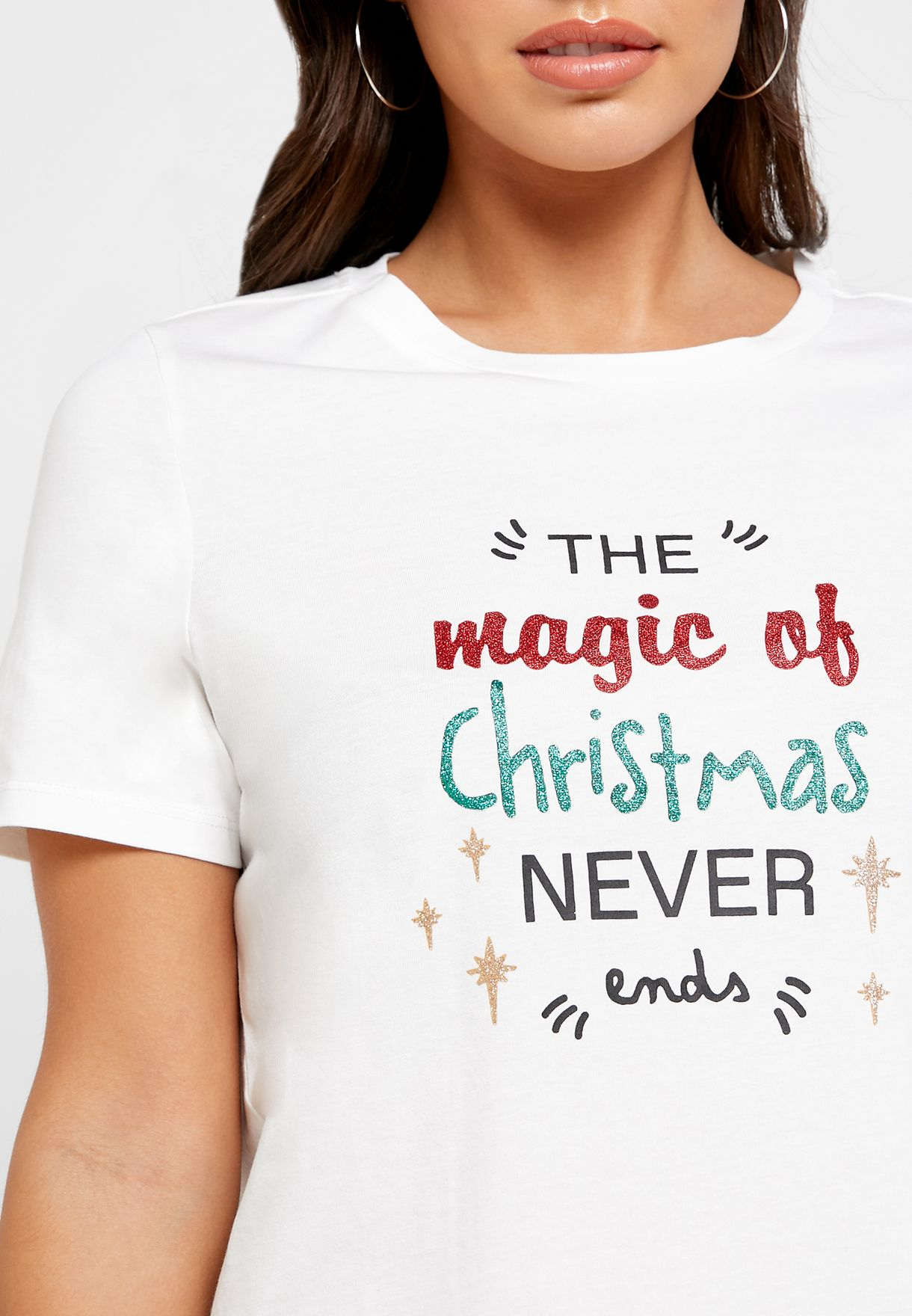 Christmas Slogan T-Shirt