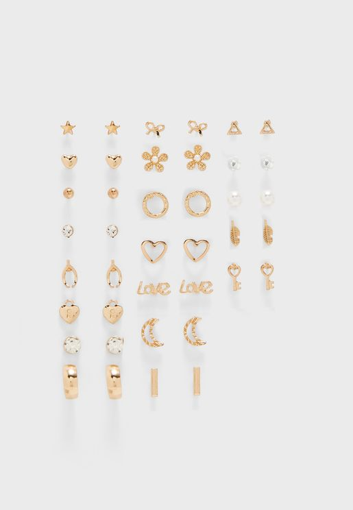 Multipack Coorq Earrings