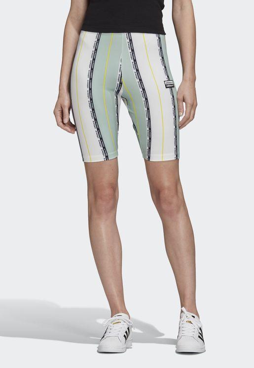 Colour Block Cycling Shorts