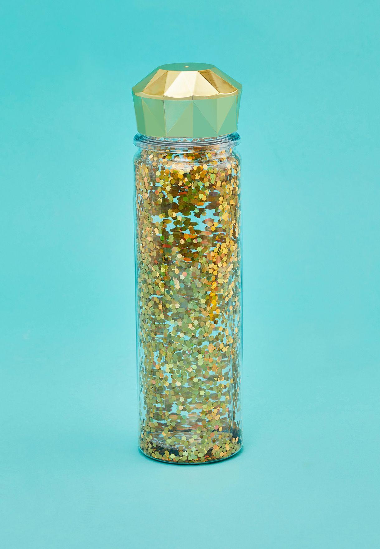 Glitter Water Bottle 600ml