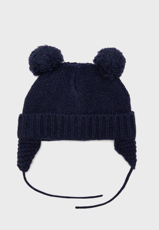 قبعة اطفال بوم بوم