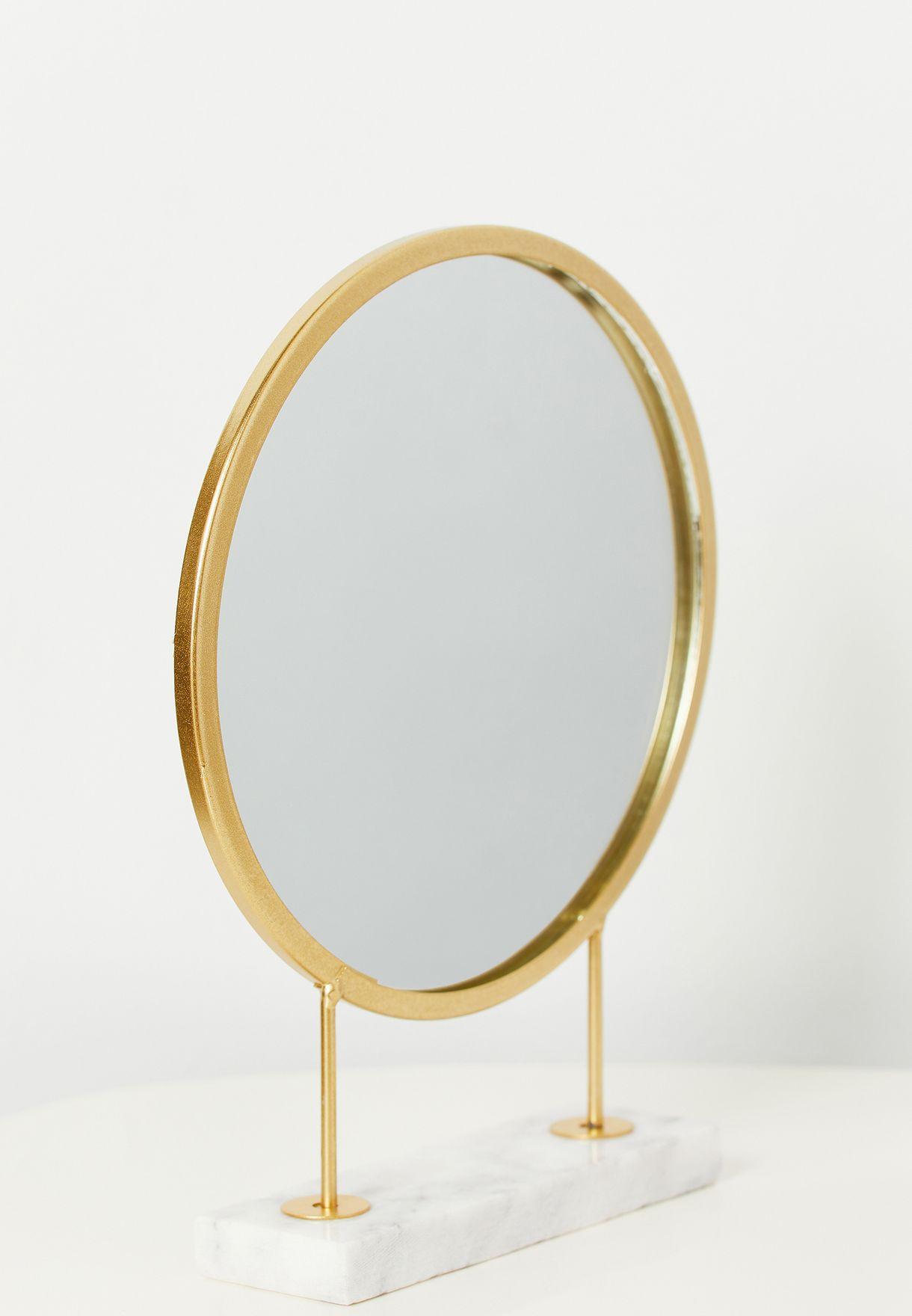 مرآة دائرية انيقة