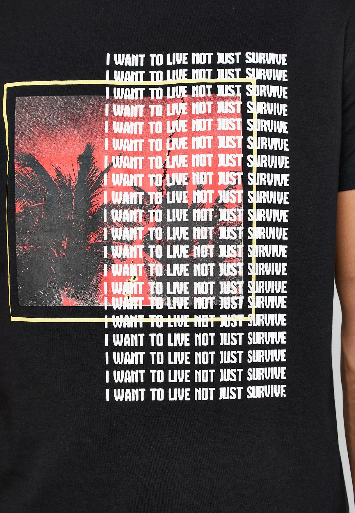 Survive Crew Neck T-Shirt