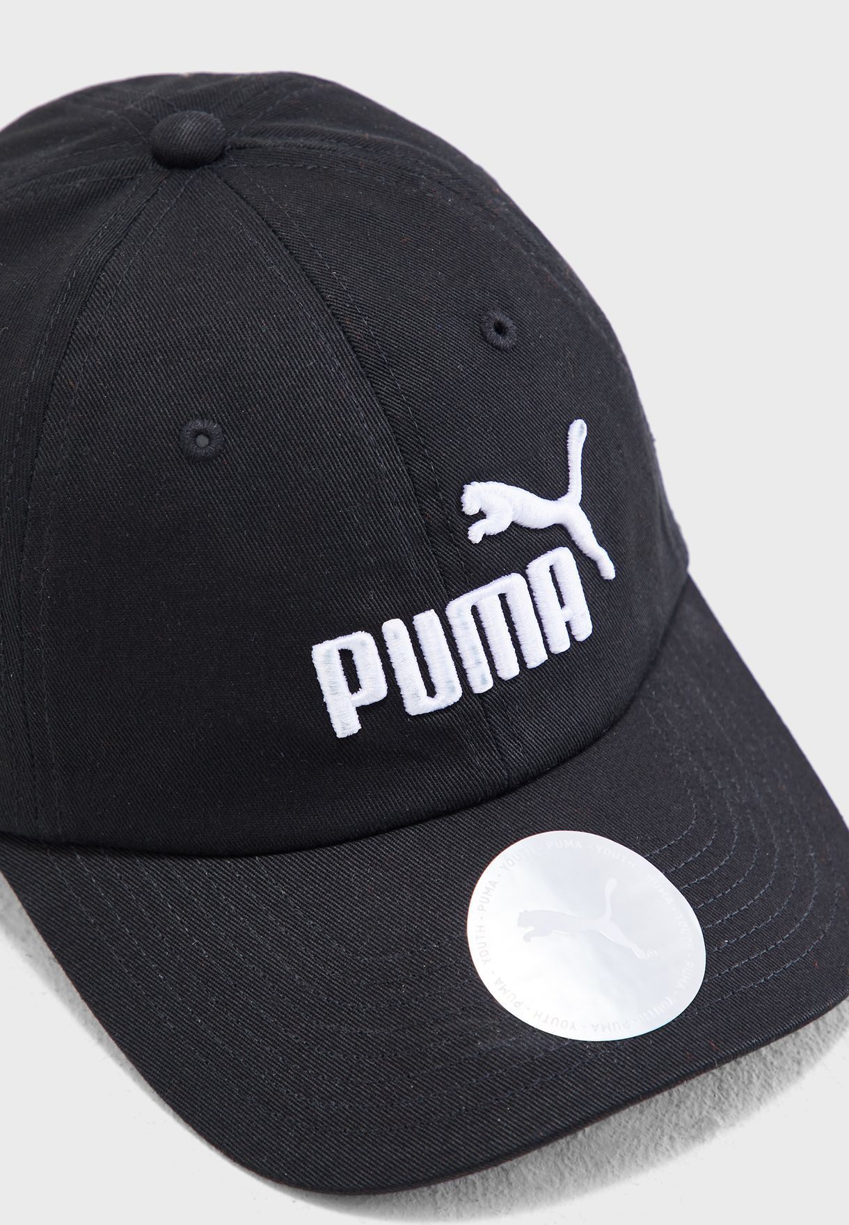 912fa2c95c7 ... spain shop puma black essential cap 2168801 for kids in saudi d8d84  808f6