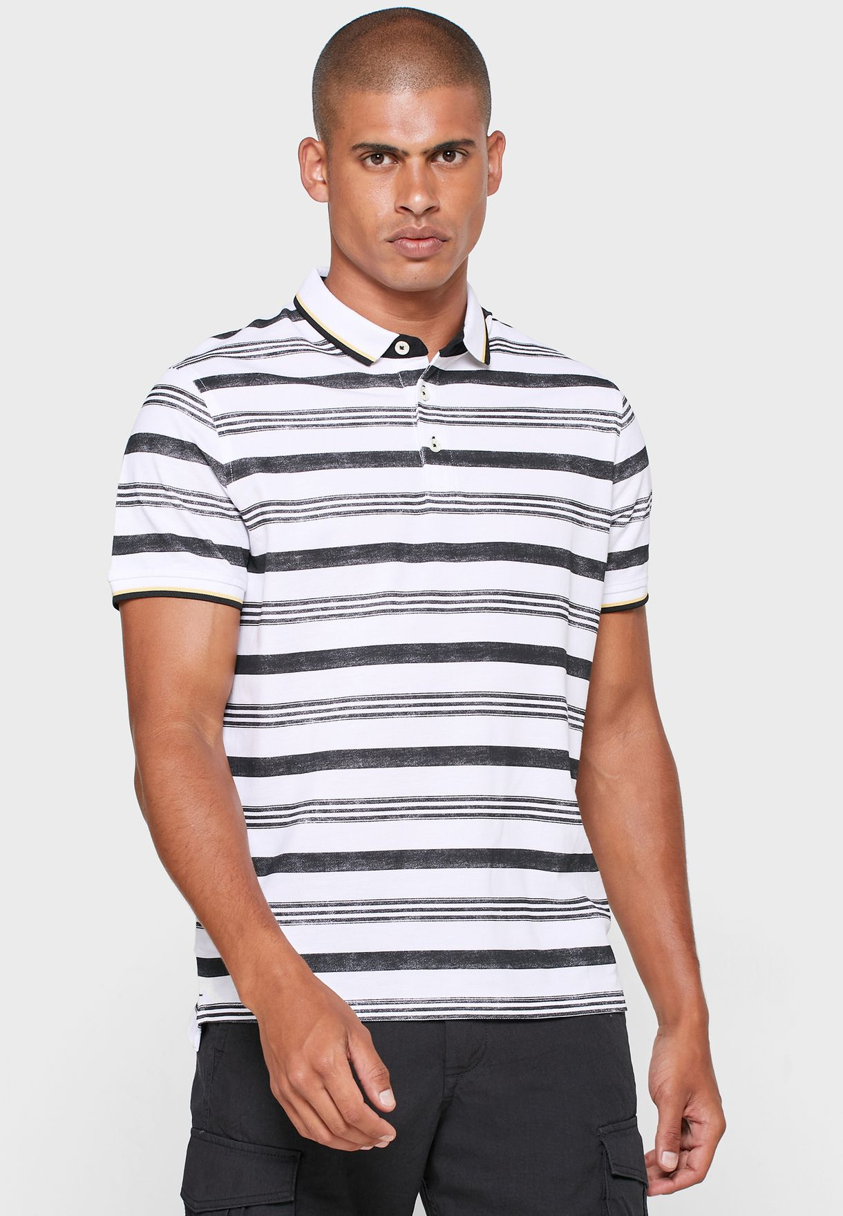 Scott Striped Polo