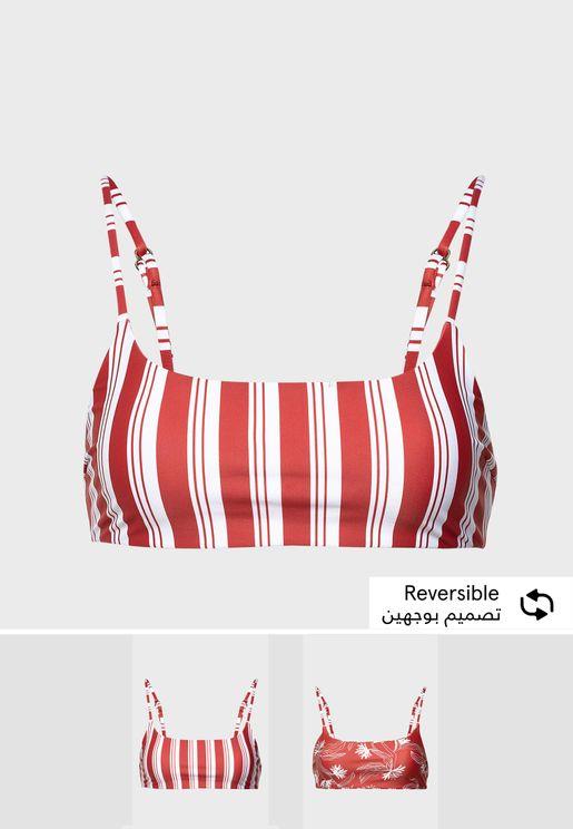 Desert Rose Bikini Top