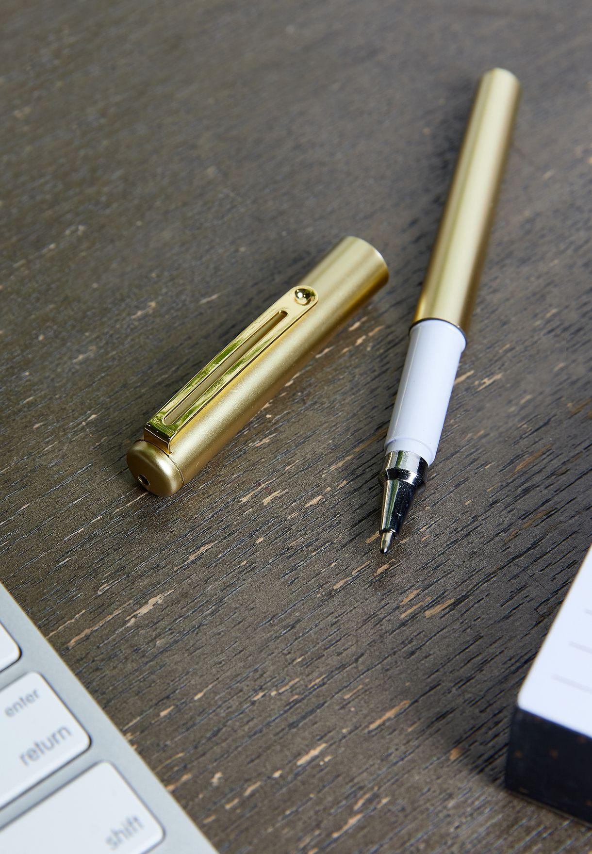 طقم (مفكرة  +  قلم حبر جاف)