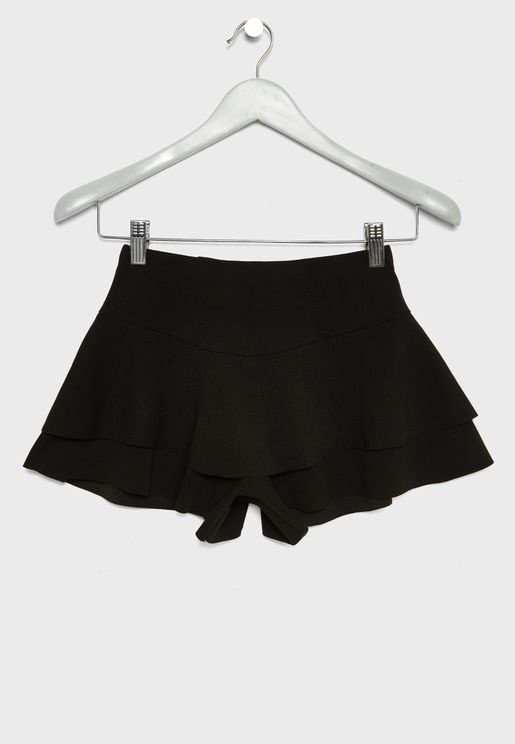 Teen Layered Skort